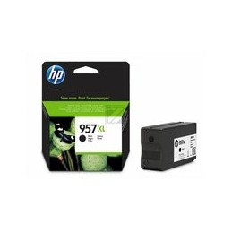 Origineel HP 957 Xl Inkt Cartridge Zwart Extra High Yield 3000 Paginas