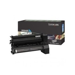 Lexmark C752 Toner Cyan Hoge Kapazität 15.000 Paginas 1 Stuk Rückgabe