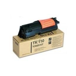 Origineel Kyocera Tk-110 Toner Zwart Hoge Hoedanigheid 6.000 Paginas A4 Met 5% Tonerdekking