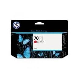 Origineel HP 70 Inkt Rood Standaard Capaciteit 130ml 1 Stuk Met Vivera Inkten