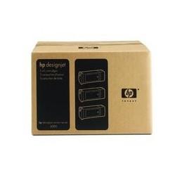 HP 90 Origineel Inkt Cyan Standaard Capaciteit 3 X 400ml 3 Stuk