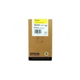 Origineel Epson T6144 Inkt Geel Standaard Capaciteit 220ml 1 Stuk