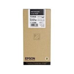 Origineel Epson T5968 Inkt Mat Zwart Standaard Capaciteit 350ml 1 Stuk