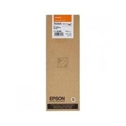 Origineel Epson T636a Inkt Oranelk Standaard Capaciteit 700ml 1 Stuk
