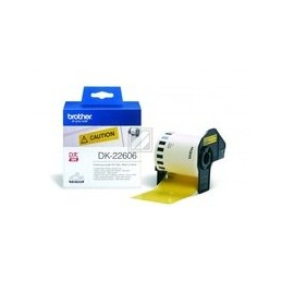 Origineel Brother P-touch Dk-22606 Geel Continue Length Film 62mm X 15.24m