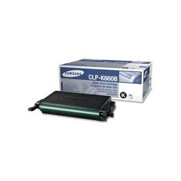 Origineel Samsung Clp-k660b High Yield Zwart Toner Cartridge