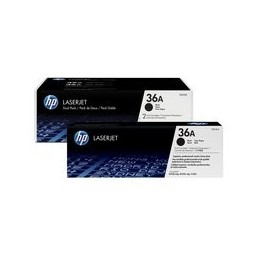 Origineel HP 36ad Laserjet Toner Zwart Standaard Capaciteit 2 X 2000 Paginas 2er-pack