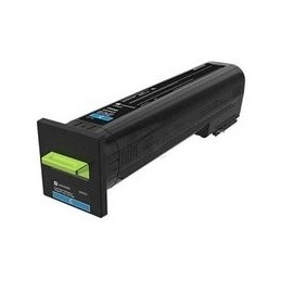 Lexmark Toner Extra High Yield Corporate Cyan For Cs820 22k