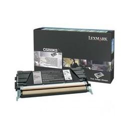Origineel Lexmark C530 Toner Zwart Standaard Capaciteit 1.500 Paginas 1 Stuk Terugkeer