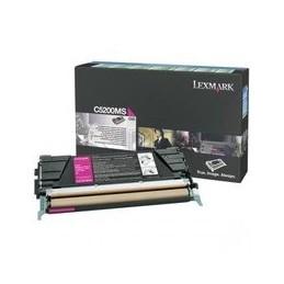 Origineel Lexmark C530 Toner Magenta Standaard Capaciteit 1.500 Paginas 1 Stuk Terugkeer