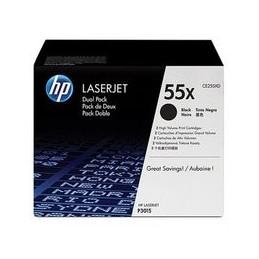 Origineel HP Laserjet Ce255xd Toner Zwart Hoge Hoedanigheid 2er-pack
