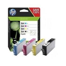 Origineel HP 364 Inkten Combo 4-pack Cmyk