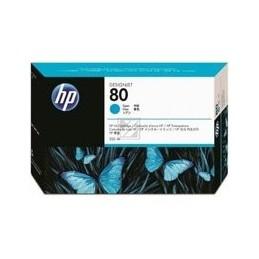 HP 80 Origineel Printkop Cyan Standaard Capaciteit 2.500 Paginas 1 Stuk